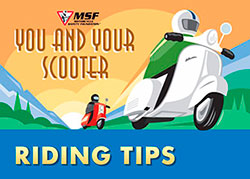 Scooter riding tips