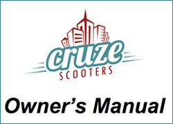 Cruze Scooters Owner's Manual